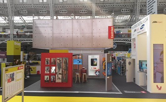 Fabric Exhibition Stand Goal : Portable fabric exhibition stands pop up display boards uk