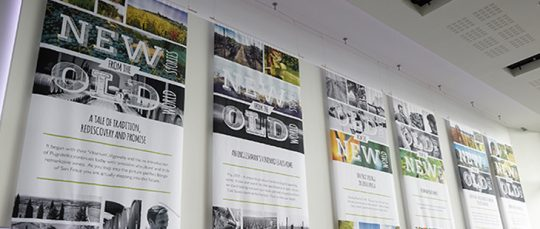 Wide Format Printing Banner Advertising