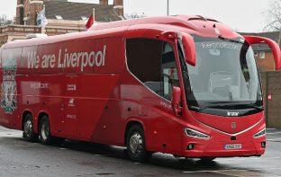 Liverpool FC Bus Print Wrap