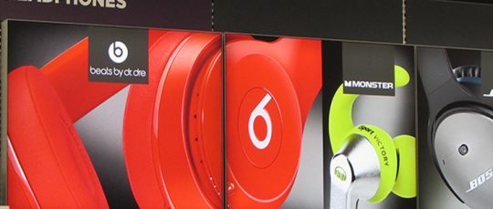 Beats by Dr Dre Retail LED Light Box