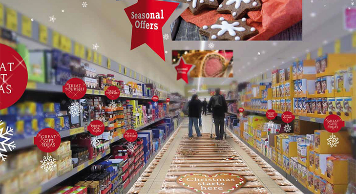 Seasonal POS - Retail Displays At Christmas