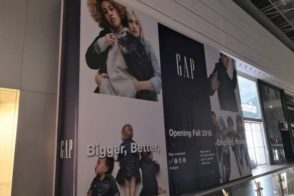 Gap new shop opening