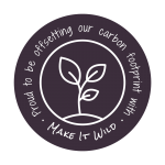 Proud to be offsetting our carbon footprint with Make it Wild.